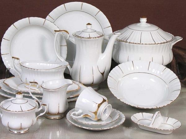 Serwis Obiadowy Iwona Chodzież Malcer Porcelana